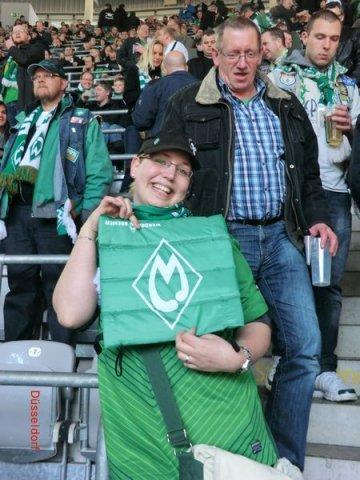Düsseldorf - Werder / 13.04.2013
